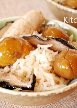 栗子麻油雞飯_電鍋料理