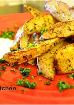 鄉村風烤香草馬鈴薯