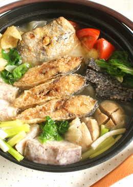 [鍋物] 沙茶魚塊火鍋