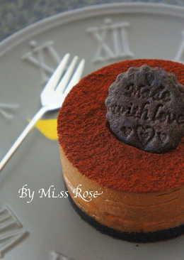 【免烤】香蕉巧克力起士蛋糕