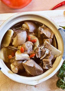 菲姐私房菜-簡單煮羊肉爐