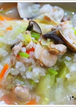 高麗菜鹹粥食譜