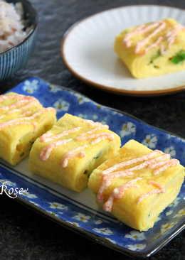 香蔥煎蛋卷