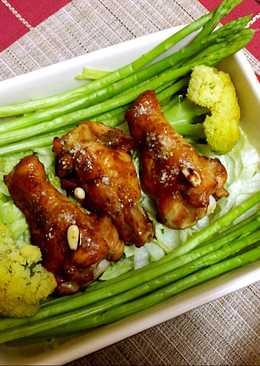 ✨「菜」蜜汁雞翅-烤❣️