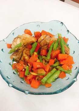 雞肉時蔬(電鍋料理)