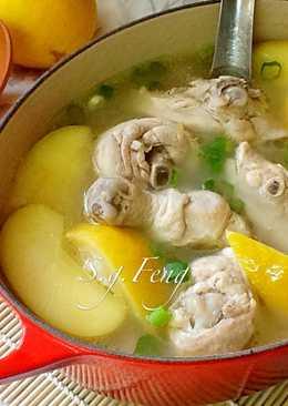 甜檸檬蘋果雞湯