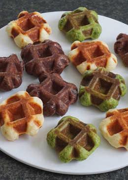 【迷你】香草/抹茶/巧克力列日鬆餅(Liège Waffle)