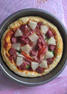 意式pizza(6吋薄批,6吋厚批各一個)