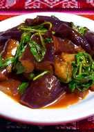 家常味噌茄子~☆輕食料理☆