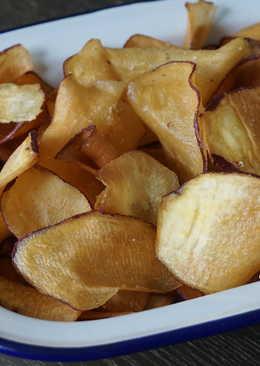 自製蕃薯片
