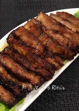 簡易蜜汁叉燒肉(免烤箱)