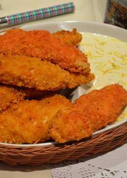 香脆玉米片烤雞柳條