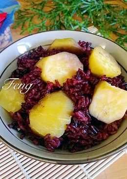 養生黑米地瓜飯(電鍋版)