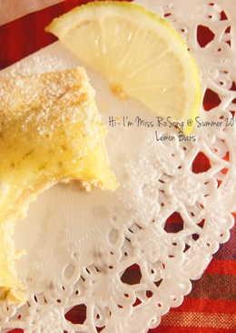 檸檬方塊酪