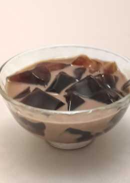 巧克力牛奶仙草凍