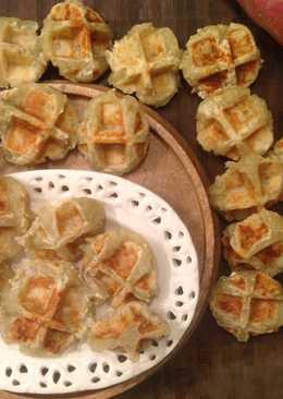 Vitantonio-Sweet Potato Bites - 鬆餅機做一口地瓜QQ球♥!!!