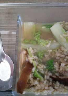 【電鍋料理】沙茶粥