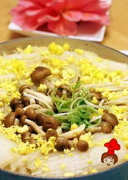 【好菇多多】膠原蛋白吃這鍋 - 砂鍋魚頭 Stewed Fish Head with Tofu in Pottery Pot