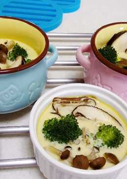 無糖豆漿蔬菜烤布蕾