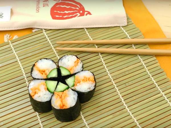 鮭魚壽司卷