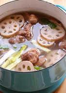 【蓮藕排骨湯】鮮甜湯頭喝一口難忘懷