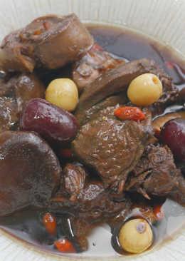 仙草雞湯(電鍋版)
