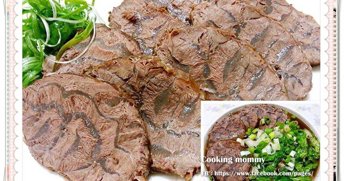 香滷牛腱~兩吃食譜 by cooking mommy