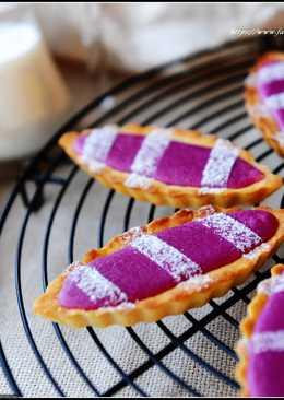 紫薯乳酪塔