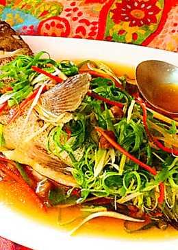 清蒸青石斑魚