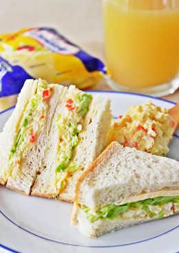馬鈴薯沙拉起司三明治