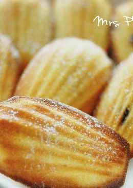 法式瑪德蓮奶油小蛋糕[簡易食譜]