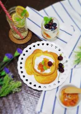 《影音食譜》健康低卡雲朵麵包~蜂蜜優格口味