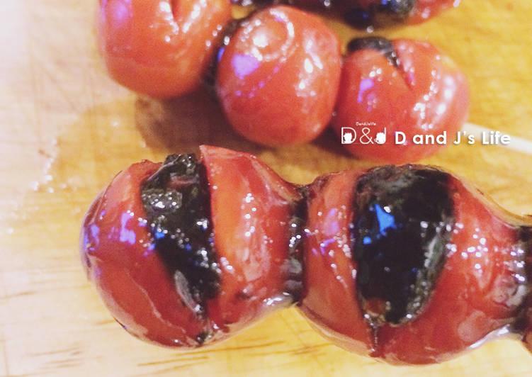 五分鐘番茄蜜餞糖葫蘆