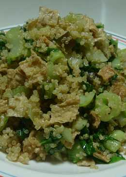 素食青江菜飯(藜麥版)