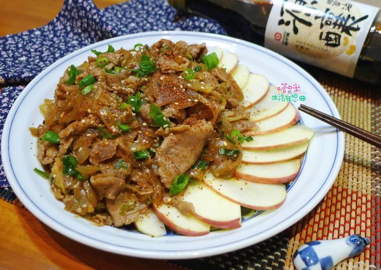 日式薑燒豬肉【源釀醬油】
