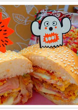 【味王泡麵創意秀】藍帶豬排堡