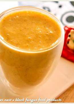 黑木耳香蕉芒果汁.柯媽媽の植物燕窩