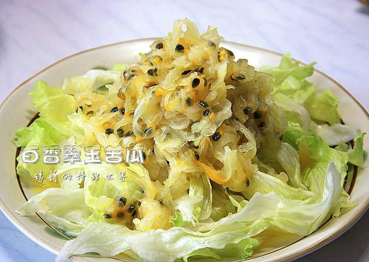 瑪莉廚房:百香翠玉苦瓜