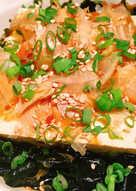 涼拌菜! 柴魚海帶芽涼拌豆腐