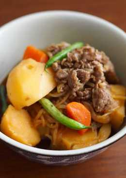 日式馬鈴薯燉肉 Meat and Potato Stew (NIKUJAGA)