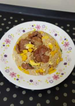 香腸玉米蛋炒飯