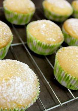 超簡單芒果杯子蛋糕