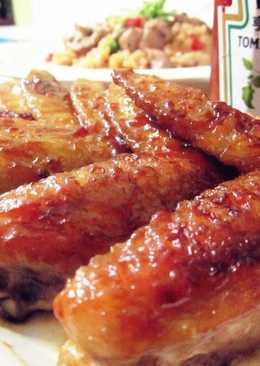 [亨氏番茄醬]酸甜醬燒雞翅