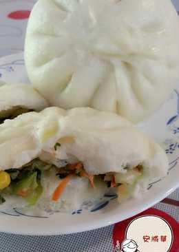 韭菜秋葵菜包