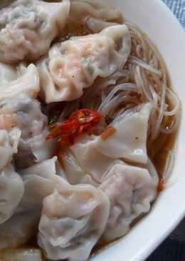自家製 ~ 港式菜肉鮮蝦雲吞