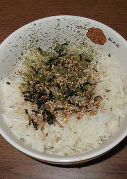 【料亭和露】海苔芝麻和露醬油飯