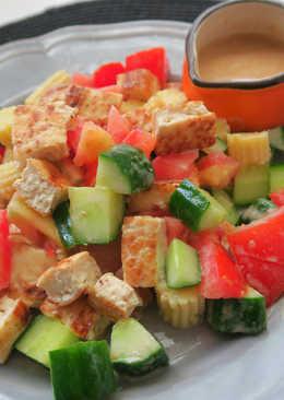胡麻豆腐沙拉