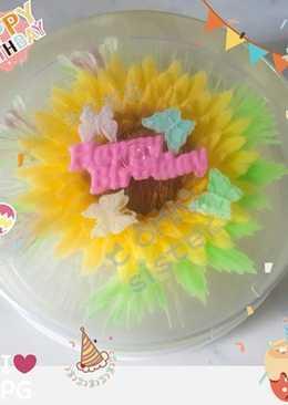 花花啫喱芝士凍餅