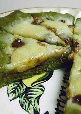 [電鍋] 地瓜芝心~巧克力香蕉抹茶Pizza