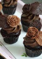 【迷你】惡魔巧克力杯子蛋糕